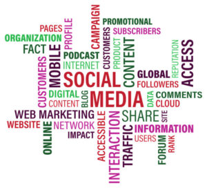 Social Media Marketing Tag Cloud