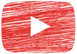 Video Play Button Sketched