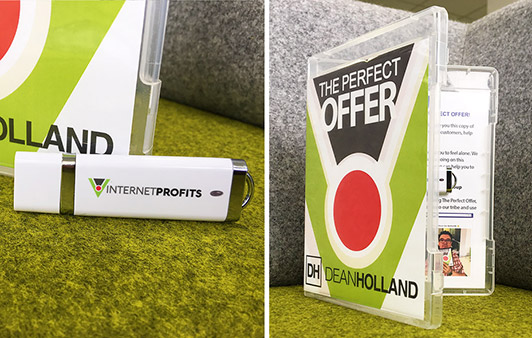 The Perfect Offer Case And USB Stick - Dean Holland