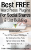Best Free WordPress Plugins For Social Shares & List Building