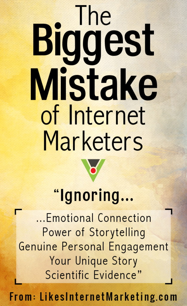 The Biggest Mistake Of Internet Marketers
