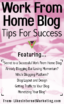 Work From Home Blog Tips For Success