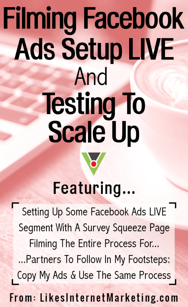 Filming Facebook Ads Setup Live And Testing To Scale Up