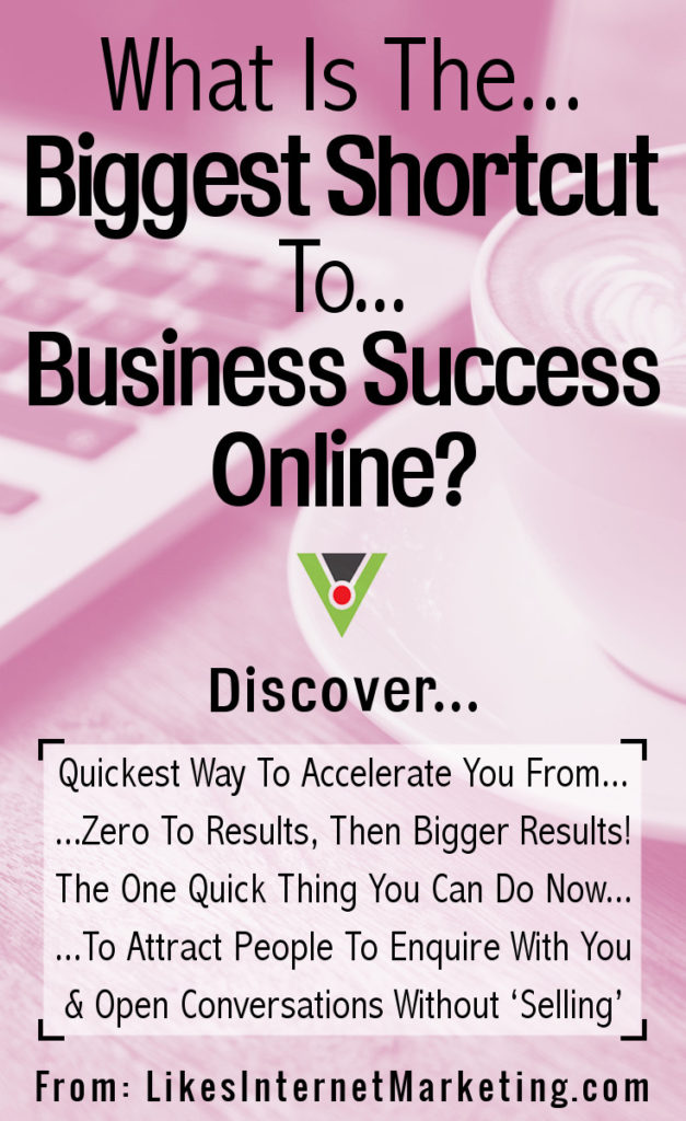 What's The Biggest Shortcut To Business Success Online?