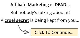 Affiliate Marketing is DEAD