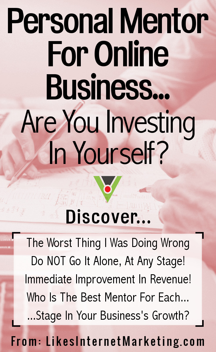 Personal mentor for online business are you investing in yourself solutioingenieria Choice Image