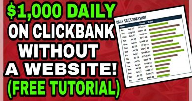 🔥 Clickbank For Beginners 2019 - $1,000 Per Day Tutorial (No Website Needed) 🔥
