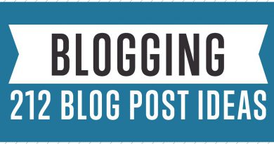 Blogging - The Ultimate List Of Blog Post Ideas