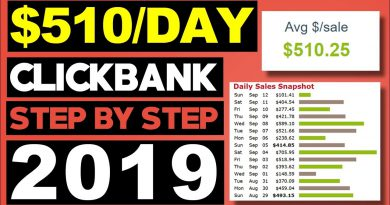 Clickbank For Beginners - Make $510 Per Day From Clickbank [Fastest Way]