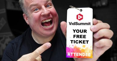 Get A FREE TICKET to VidSummit!