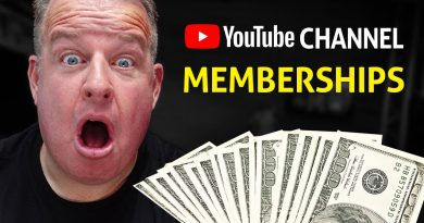 Make Money with YouTube Channel Memberships - Tips & Tactic