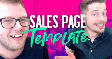 Sales Page Template | 16 MUST Have Elements for High Conversions