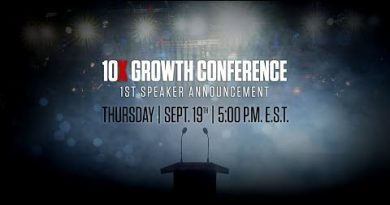 Speaker Announcement for 10X Growth Conference