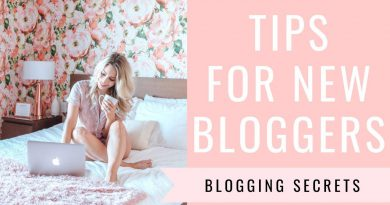 TIPS FOR NEW BLOGGERS From A Full-Time Blogger | Blogging & Social Media Tips | Joëlle Anello