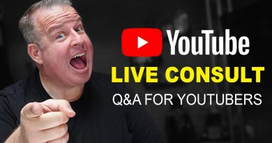 YouTube Q&A for YouTubers and VidSummit Ticket Contest (Live)