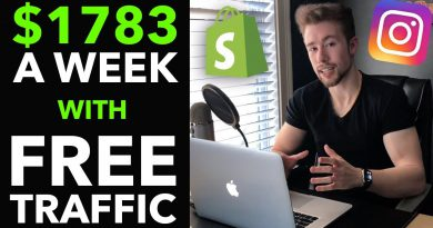 💸 How I Make $1,783/Week on Shopify With FREE Instagram Traffic (2019)