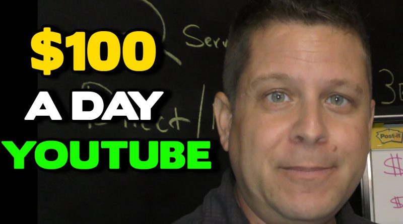 $100 Per Day On YouTube With Simple Little Videos - Super Easy - MUST SEE!