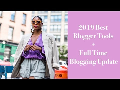 2019 Blogger Tips + Tools & Full Time Blogging Update | MONROE STEELE