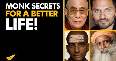 5 Best Pieces of LIFE-CHANGING ADVICE From MONKS & GURUS | #BelieveLife