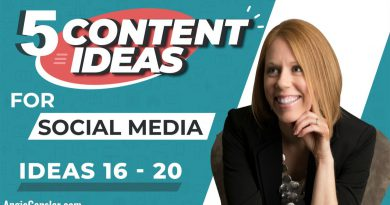 5 Content Ideas for Social Media to Position You as the Expert [Ideas 16 - 20]