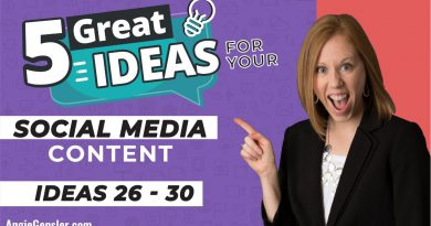 5 Great Ideas for Social Media Content [Ideas 26 - 30]