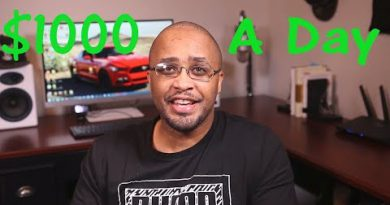 $500 - $1,000 A Day With Affiliate Marketing (For Beginners Step By Step Training)