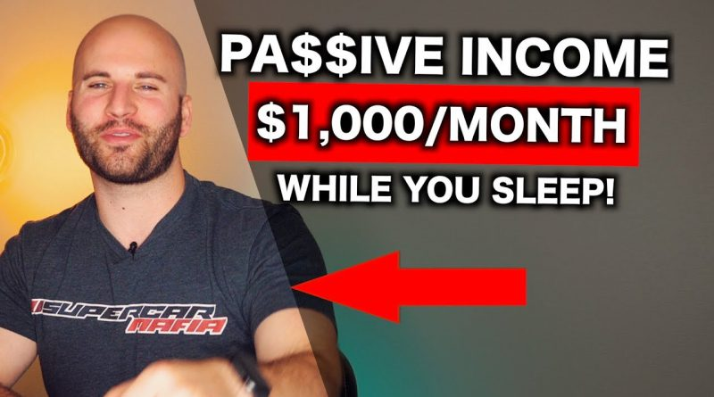 7 Passive Income Ideas (That Earn $1000+ PER MONTH)