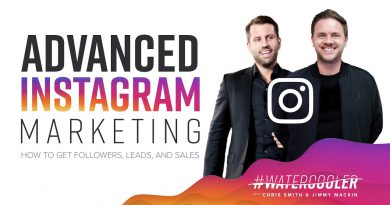 Advanced Instagram Marketing - How To Get Followers, Leads, and Sales | 03/20/19 | #WaterCooler