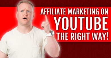 Affiliate Marketing Done The RIGHT WAY Using YOUTUBE ✅