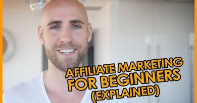 Affiliate Marketing For Beginners (EXPLAINED IN PLAIN ENGLISH!)