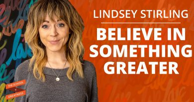 Believe In Something Greater | Lindsey Stirling and Lewis Howes