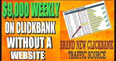 Clickbank For Beginners: $500 Day Clickbank Method Revealed !BRAND NEW!