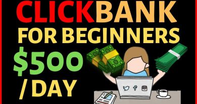 Clickbank for Beginners - Fastest Method to Make $500 Repeatedly (Step by Step)
