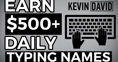 Earn $500 By Typing Names Online! Available Worldwide (Make Money Online)