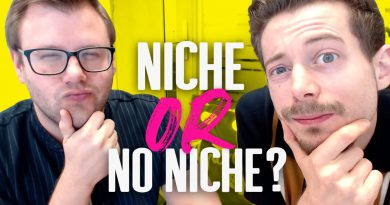 Finding Your Niche | Why You DON'T Have To Have One To Be Successful