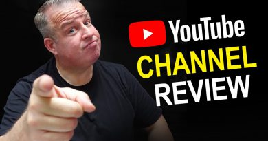 Get Your YouTube Channel Review for Free!!