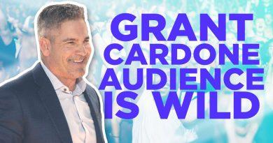 Grant Cardone Audience is WILD