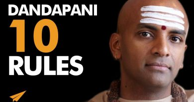 HINDU MONK Shares KNOWLEGE That Will CHANGE Your LIFE! | Dandapani | Top 10 Rules