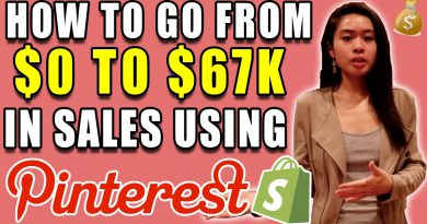 HOW TO GENERATE $67K IN UNDER 5 MONTHS WITH PINTEREST
