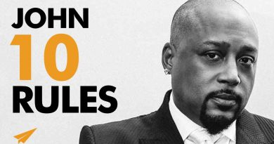 How to Be a BOSS and Become RICH!   Daymond John   Top 10 Rules