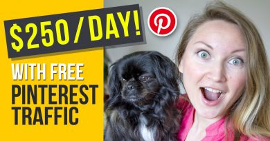How to Make Money on Pinterest: 3 Ways I make $250/day With Free Pinterest Traffic (2019)