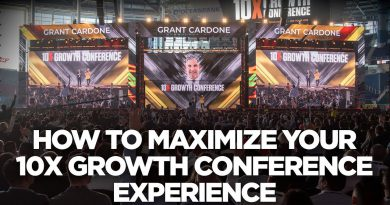 How to Maximize Your 10X Growth Conference Experience | Young Hustlers