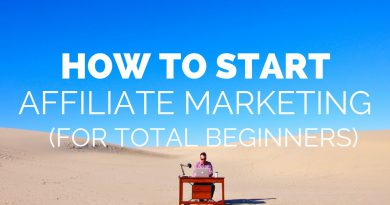 How to Start AFFILIATE MARKETING FOR BEGINNERS (Step by Step Guide) | Location Rebel