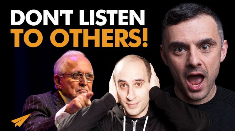 IGNORE The OPINIONS of Others! | Gary Vaynerchuk | #Entspresso