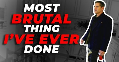 Most Brutal thing I've EVER done - Grant Cardone