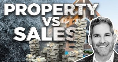 Property Vs Sales Which is better? - Grant Cardone