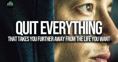 QUIT EVERYTHING that is holding you back - Motivational Speech
