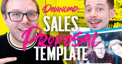 Sales Proposal Templates To Guarantee New Clients