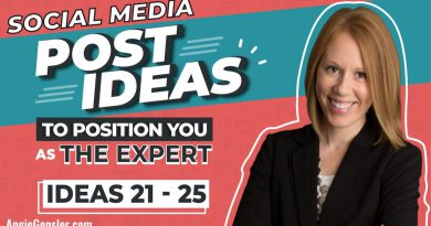 Social Media Post Ideas to Position You as The Expert [Ideas 21 - 25]