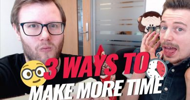 Time Management for Entrepreneurs | 3 Huge Time Drains to Stop!